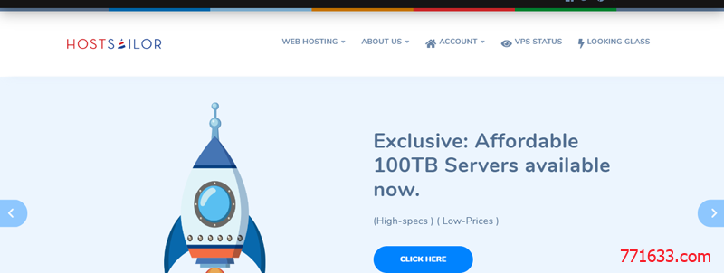 #便宜#HostSailor:1核/256M/15G HDD/256G流量/1Gbps/1IP/荷兰&罗马尼亚/年付$6.6