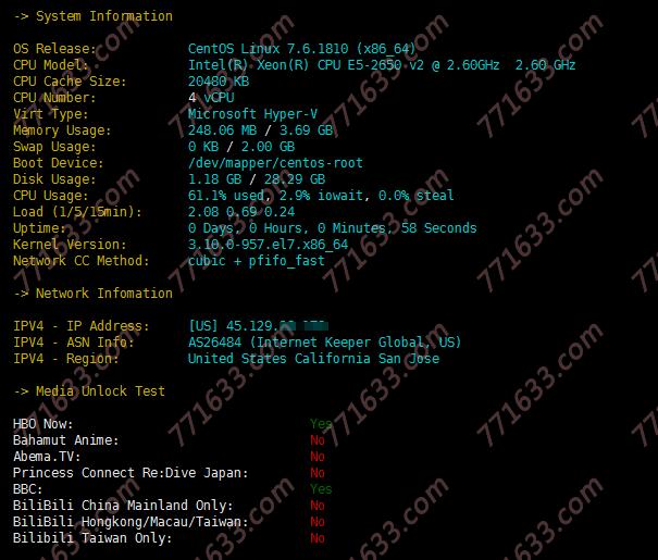 酷锐云:1核/1G/40G/10Mbps/500G/圣何塞CN2 GIA/月付18元,原生IP,附测评