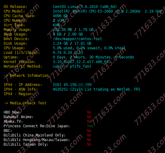 #便宜#六一云:1核/512M/40G SSD/600G流量/10Mbps/洛杉矶CN2 GIA/30G防御/年付168元