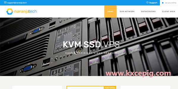 Naranjatech:1核/2G/30G NVMe/5T流量/1Gbps/荷兰机房/KVM/年付€20,月付5折优惠